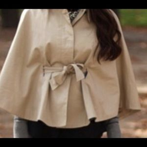 Banana Republic Belted Cape
