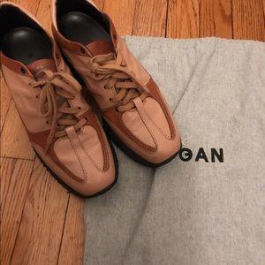 Hogan Shoes - Hogan beige brown leather sneakers 38 8