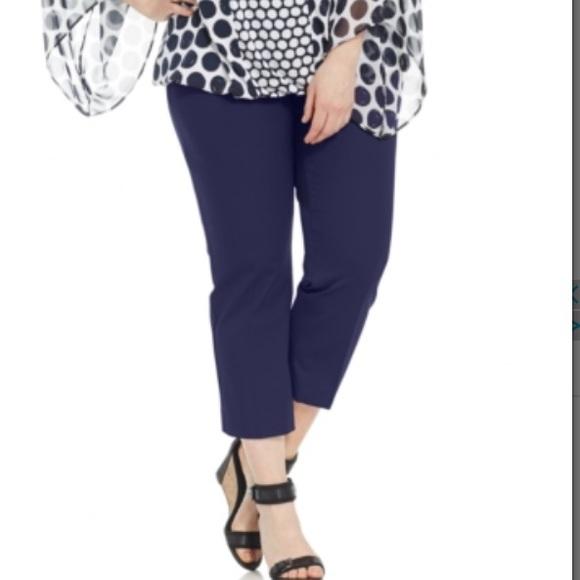 bade7f217dd Alfani Plus Size Straight-Leg Capri Pants. B060