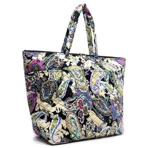 Handbags - Black Paisley Weekender/Overnight Bag XL