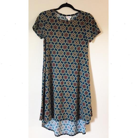 d643cf1e6c96a LuLaRoe Dresses   Skirts - LuLaRoe Carly Dress Geometric Print XXS