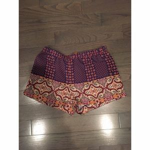 Joe Fresh Size 6 Tribal Shorts