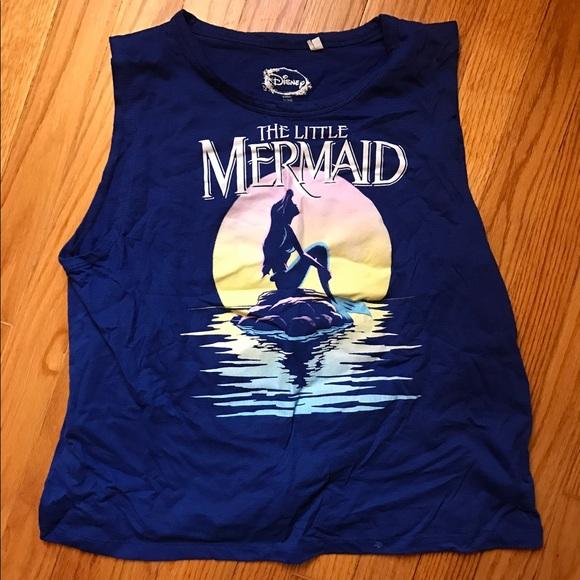 b23a99d398eae Disney Tops - Little Mermaid Crop Top