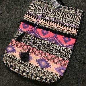 Handbags - Boho print soft mini backpack