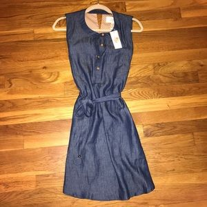 julie brown Dresses & Skirts - NWT: Authentic Julie Brown Denim Like Dress