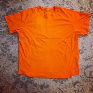 Orange Men's Hind mesh athletic shirt