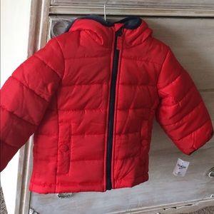 Osh Kosh Other - OshKosh B'Gosh Red 2T Coat Boys NWT
