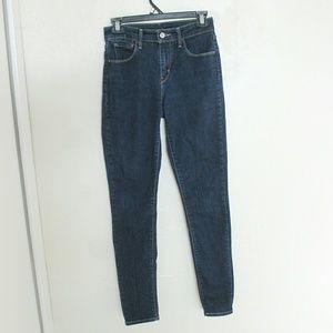 Levi's Denim - High waisted Levis Skinny jeans