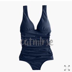 J. Crew Other - 🆕 J Crew $98 Ruched Femme Padded Swimsuit