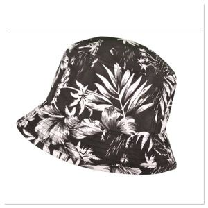 Black Hawaiian Bucket Hat