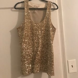 Alice + Olivia Tops - Sequined Tank