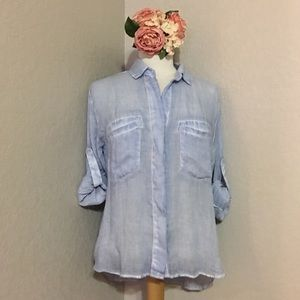 Anthropologie Tops - 💙CLOTH AND STONE BUTTON DOWN SHIRT💙