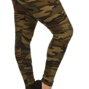 The UC Pants - Camouflage tall and Curvy plus size leggings new