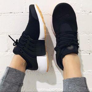 Nike Shoes - Nike Black + Gum Presto Sneakers