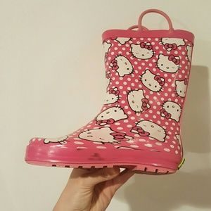 Western Chief Other - WESTERN CHEIF HELLO KITTY BOOTS SIZE 13/1