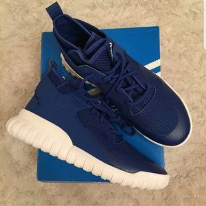 adidas Other - Adidas tubular x royal blue sneakers sz 10 & 10.5