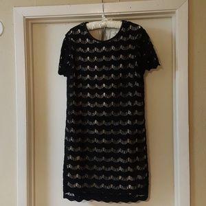 Kate Spade scalloped lace dress