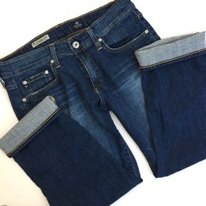 AG Adriano Goldschmied Denim - AG Tomboy Crops NWOT
