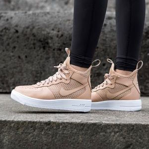 Nike Shoes - Nike Vachetta Tan Leather + Mesh Sneakers