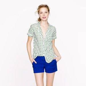J. Crew Chinco Shorts in Colbalt.