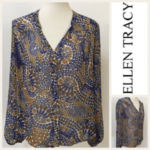 Ellen Tracy Tops - Ellen Tracy Blouse