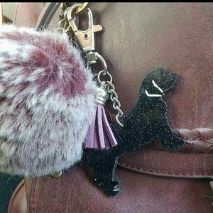 Accessories - CUSTOM keychain of your doggie silouette & tassel
