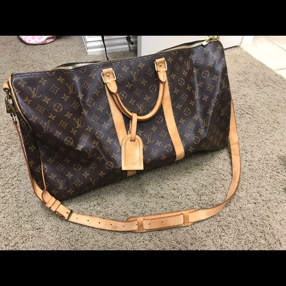d6091331745b Louis Vuitton Handbags - Louis Vuitton KEEPALL 55 with Dust bag