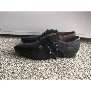 Miz Mooz Shoes - Miz Mooz 7 Leather Lorelle Oxford Flats Booties