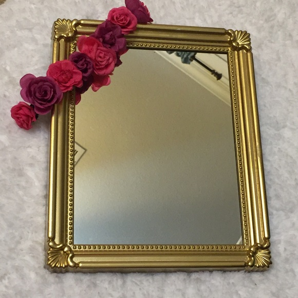 Glam up with this fancy vanity mirror tray os from for Fancy vanity mirror
