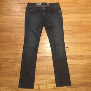 Anthropologie Pilcro blue straight leg jeans - 27