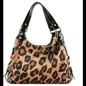 17001e31d11e Coach Bags - Coach Madison Ocelot Maggie Purse Handbag leopard