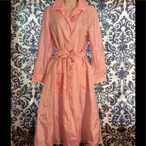 Totes Jackets & Blazers - Vintage Totes Pink Lightweight Trench Coat