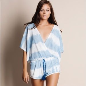 Bellanblue Pants - 🆕KATNISS tie dye kimono romper - BLUE