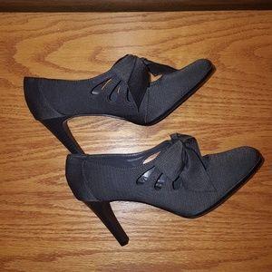 Ann Marino Shoes - Ann Marino Grey Lido Pumps Sz 9