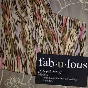 Liz & Me Dresses & Skirts - Liz & Me Platinum Collection Chiffon Skirt