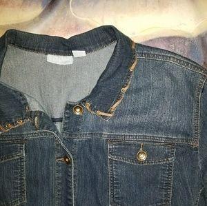 Liz & Me Jackets & Blazers - Liz & Co Denim Jacket