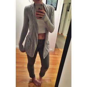Belldini Sweaters - Light Gray Sweater