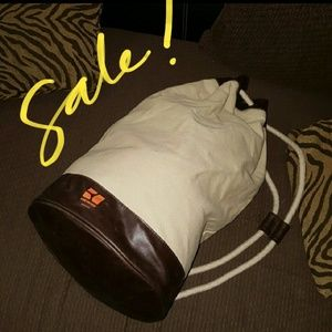BOSS ORANGE Handbags - Boss Orange Canvas Duffle Bag with pull string