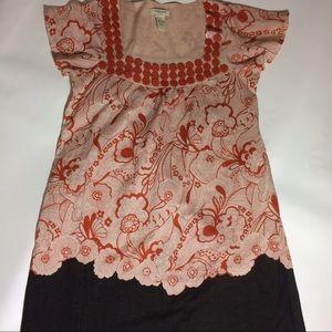 Vertigo Paris Dresses & Skirts - Floral Vertigo Paris Dress/Oversized Top