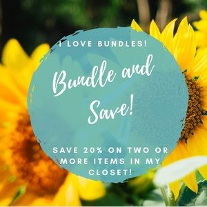 Other - Bundle Discounts in my Closet!