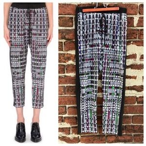 Clover Canyon Pants - Clover Canyon S Trinity College Houndstooth Pants