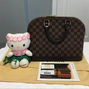 Louis Vuitton Handbags - Authentic Alma in Damier Ebene