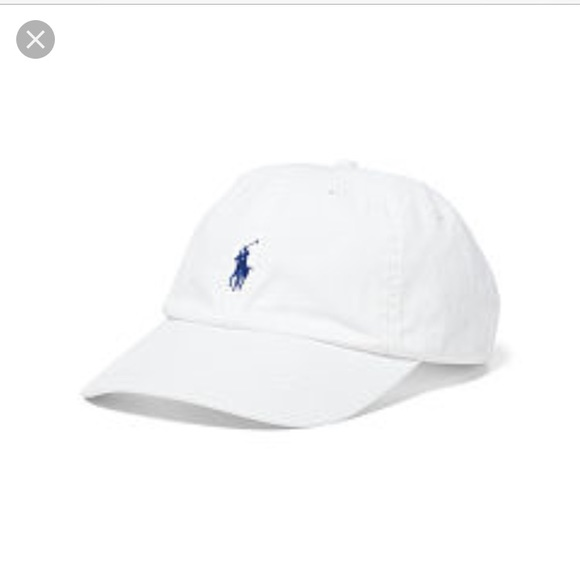 Polo by Ralph Lauren Accessories - Polo white baseball cap women s ed4d05b4bcb