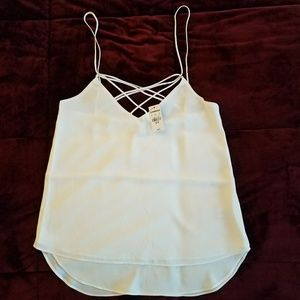 Express Tops - NWT Express Strappy Tank Top - Size XS