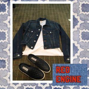 Red Engine Jackets & Blazers - 🚒Red Engine cropped denim jacket🚒