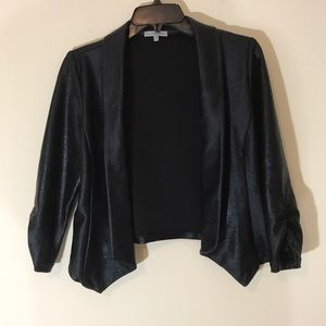 Charlotte Russe Coated Shrug