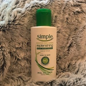 Simple Other - Simple's replenishing, rich moisturizer
