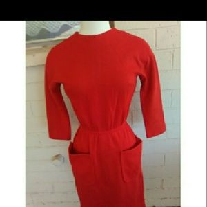 Vintage 1960's dress with pockets