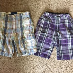 77kids Other - 2 boys size 8 shorts. Hawk and 77 kids by AE