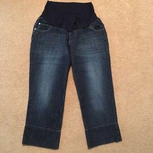 Motherhood Maternity Jeans - Maternity Jean Capris